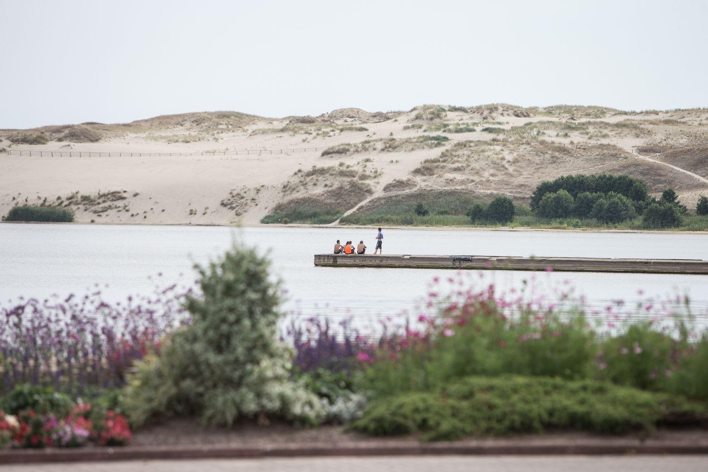Nidoje atsiras naujas paplūdimys
