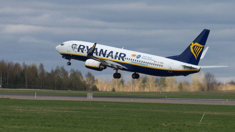 """""""Ryanair"""" paskelbė apie naują pasiekto pelno rekordą. Juditos Grigelytės (VŽ) nuotr."""