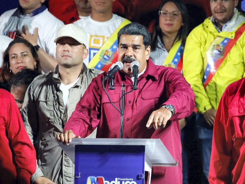 """Nicolas Maduro, Venesuelos prezidentas. Carloso Garcia Rawlinso (""""Reuters"""" / """"Scanpix"""") nuotr."""