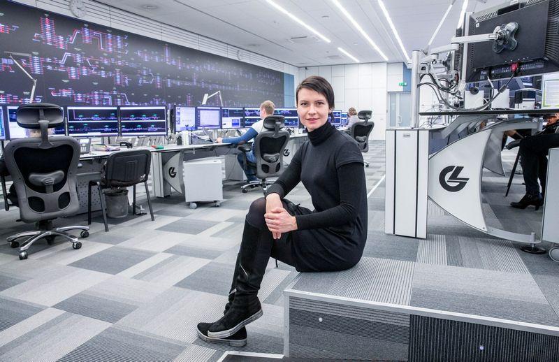 """Eglė Radvilė, AB """"Lietuvos geležinkeliai"""" IT kompetencijų centro """"LG.Digital"""" direktorė. Juditos Grigelytės (VŽ) nuotr."""