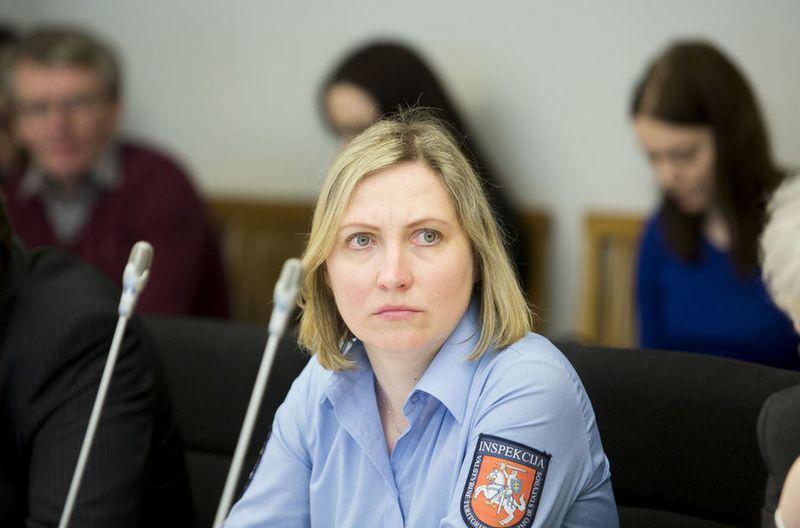 Eglė Kuklierienė, VTPSI viršininko pavaduotoja. Irmanto Gelūno (15min) nuotr.
