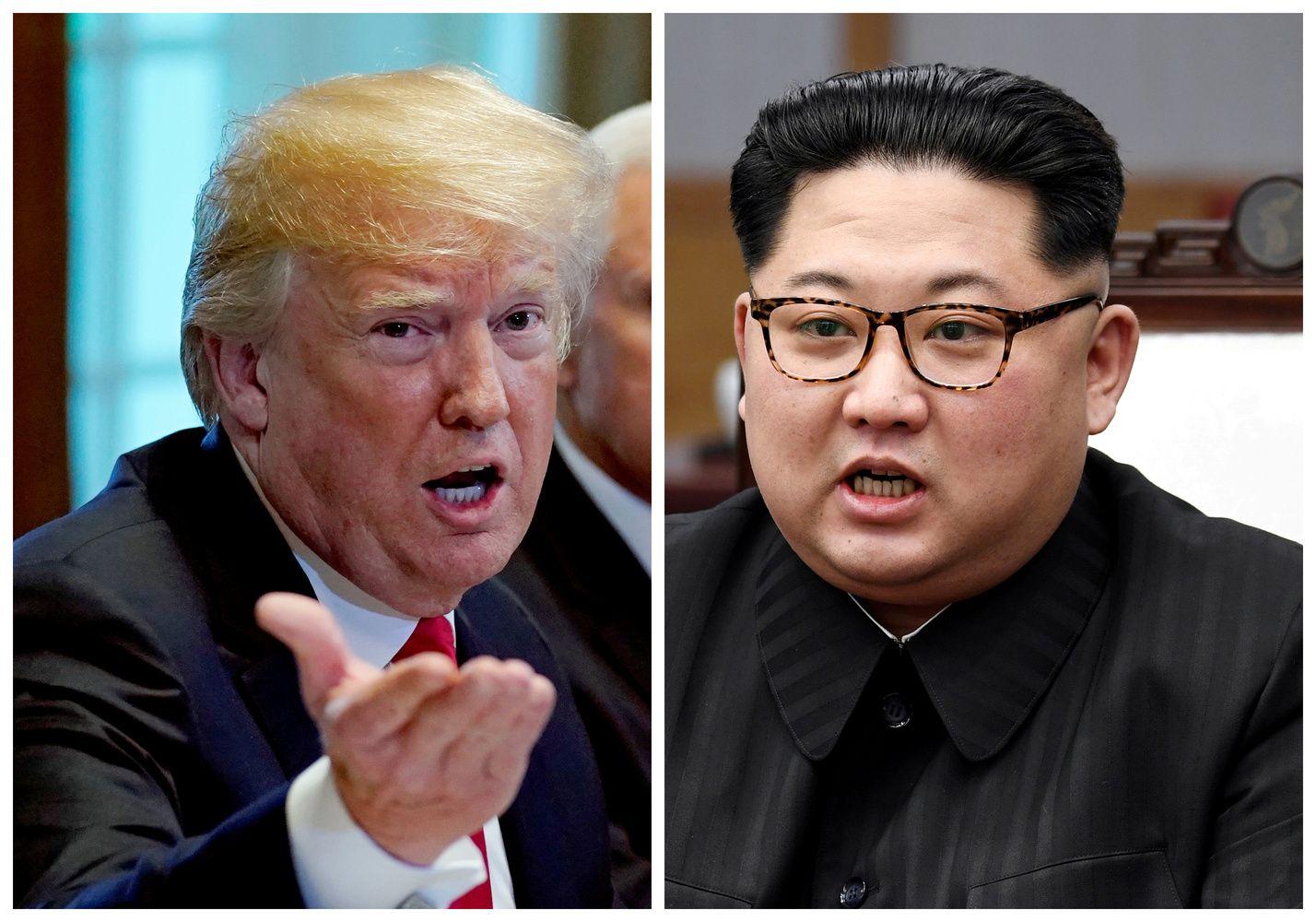 Istorinis JAV ir Šiaurės Korėjos lyderių susitikimas vėl pakibo ore