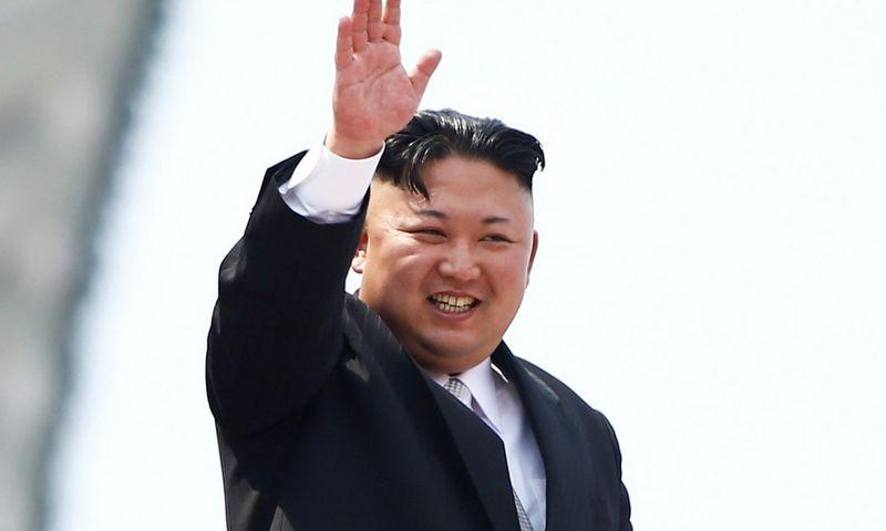 Kim Jong Unas, Šiaurės Korėjos lyderis. Damiro Sagoljo (Reuters / Scanpix) nuotr.