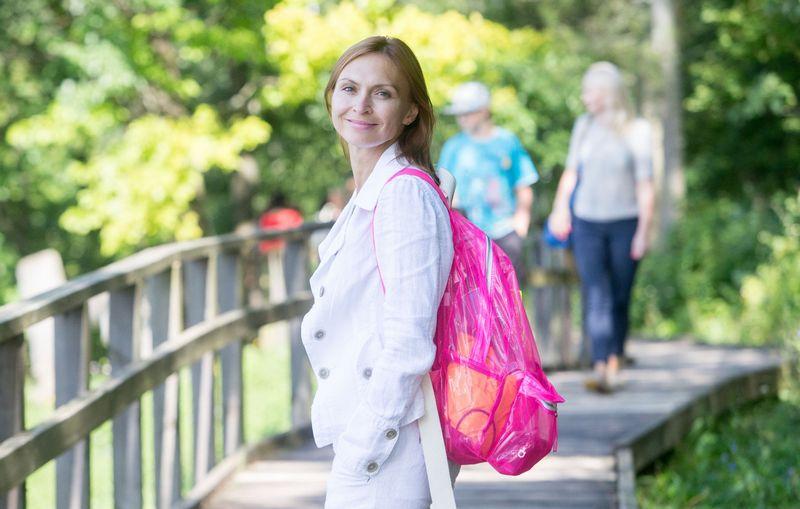 Indrė Trakimaitė – Šeškuvienė, laikina Valstybinio turizmo departamento vadovė, prognozuoja, kad bendras turistų srauto augimas 2018 m. sieks 6-6,5%. Juditos Grigelytės (VŽ) nuotr.