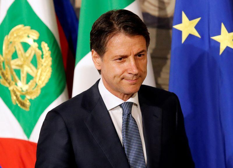 """Teisininkas Giuseppe Conte. Remo Casilli (""""Reuters"""" / """"Scanpix"""") nuotr."""
