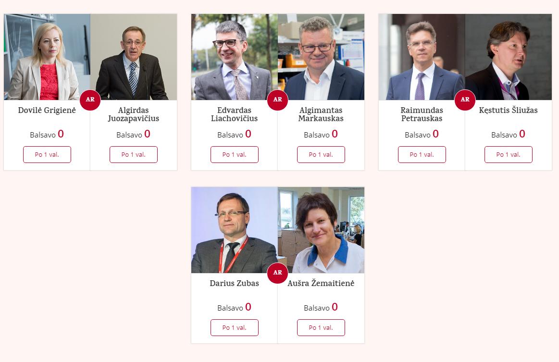 """VŽ skaitytojai renka """"Metų vadovą"""": II ture varžosi aštuoni lyderiai"""