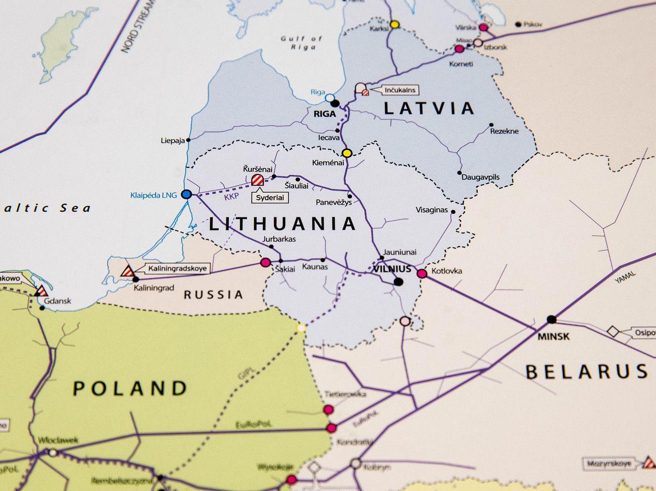 Lietuvos-Latvijos dujotiekių plėtros studijai – ES parama