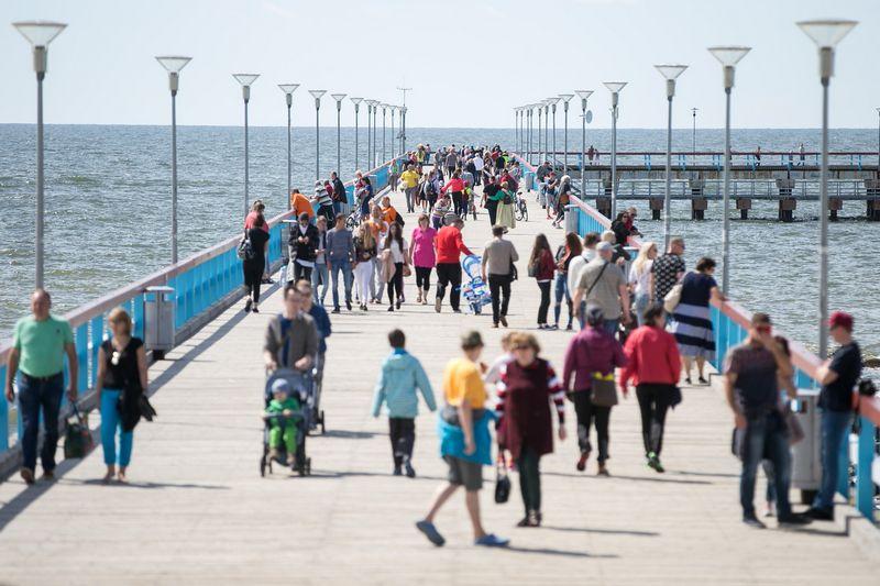 """Palanga šį savaitgalį garsiai paskelbs vasaros pradžią. Žygimanto Gedvilos (""""Reuters"""" / """"Scanpix"""") nuotr."""