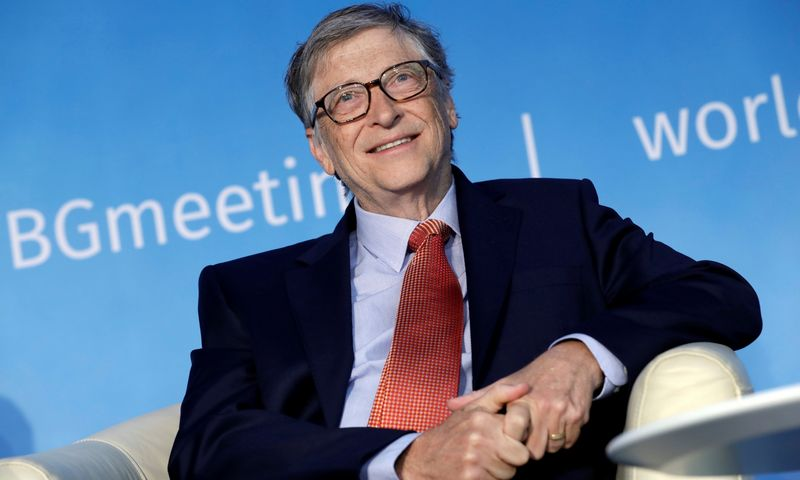 "Verslininkas Billas Gatesas. Yuri Gripaso (""Reuters""/""Scanpix"") nuotr."