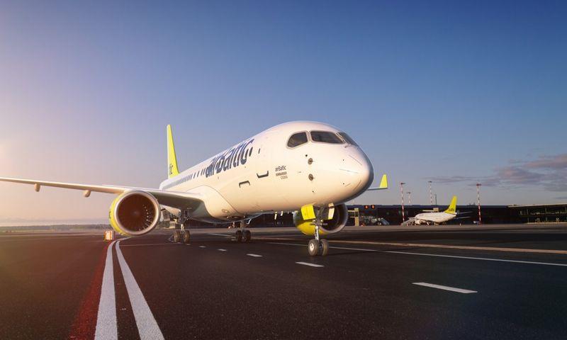 """""""AirBaltic"""" paskelbė perkantys dar 30 naujų """"Bombardier CS"""" serijos lėktuvų. Bendrovės nuotr."""