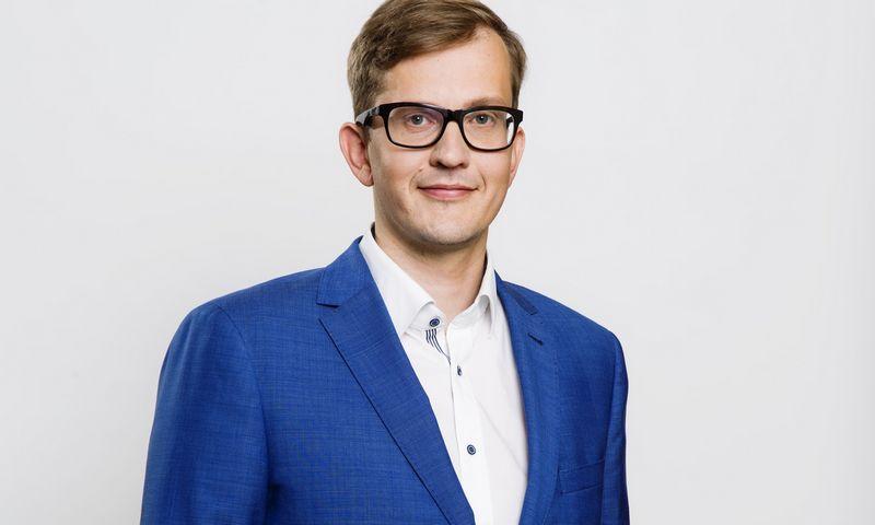 """Veiko Kandla, AB """"Fjord Bank"""" vykdomasis direktorius. Bendrovės nuotr."""