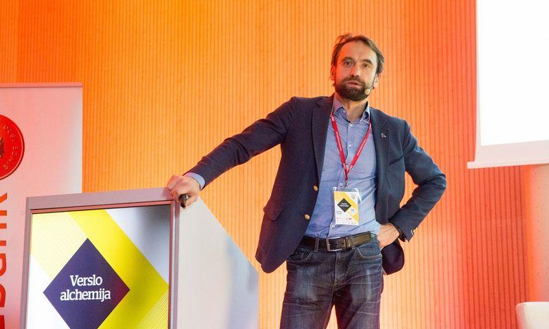 """Šarūnas Šiugžda, """"LitCapital"""" įkūrėjas ir vadovaujantysis partneris. Vladimiro Ivanovo (VŽ) nuotr."""
