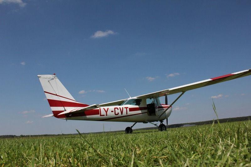 """""""BAA Training"""" mokomasis lėktuvas. Įmonės nuotr."""