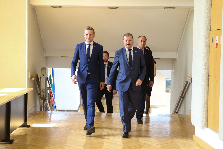 Premjeras ir Vilniaus meras susitarė dėl Nacionalinio stadiono