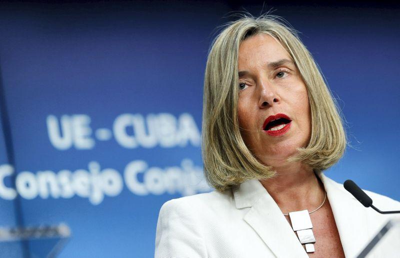 """Federica Mogherini, ES užsienio politikos vadovė. Francois Lenoir (""""Reuters"""" / """"Scanpix"""") nuotr."""