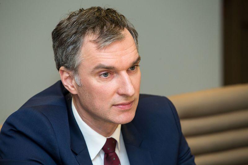Mindaugas Sinkevičius, Valstybinio socialinio draudimo fondo valdybos direktorius. Vladimiro Ivanovo (VŽ) nuotr.
