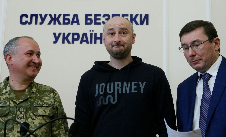 Nužudytu laikytas žurnalistas Babčenko iš tiesų yra gyvas