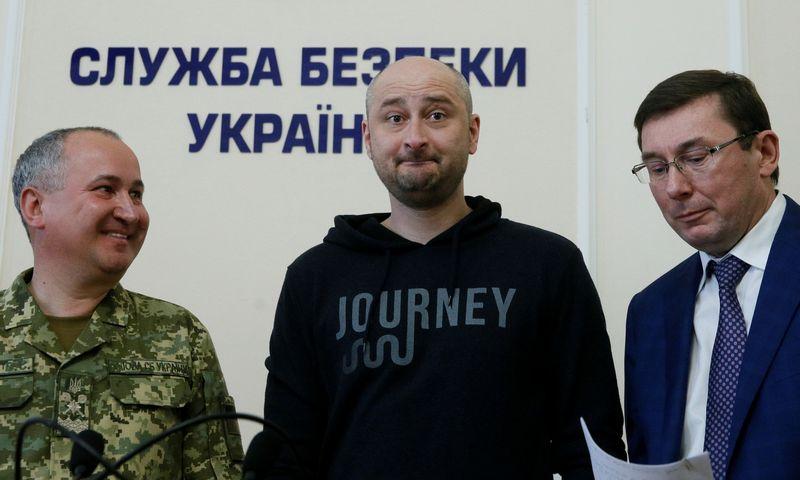 "Rusijos žurnalistas Arkadijus Babčenko.  Valentino Ogirenko (""Reuters"" / ""Scanpix"") nuotr."