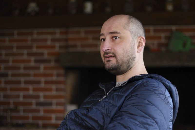 "Rusijos žurnalistas Arkadijus Babčenko. Vitalijaus Nosacho (""Reuters"" / ""Scanpix"") nuotr."