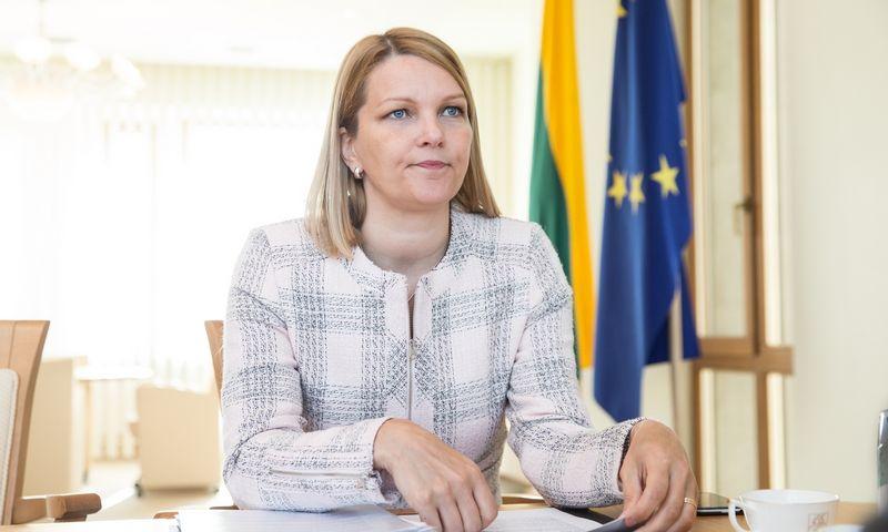 Mari Kiviniemi, EBPO generalinio sekretoriaus pavaduotoja., Juditos Grigelytės (VŽ) nuotr.