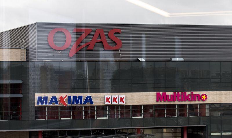 """Prekybos centras """"Ozas"""" Vilniuje. Juditos Grigelytės (VŽ) nuotr."""