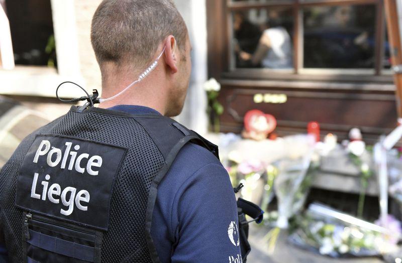 Belgijos policija turi daug ko pasimokyti iš įvykių Lježe. AP nuotr.