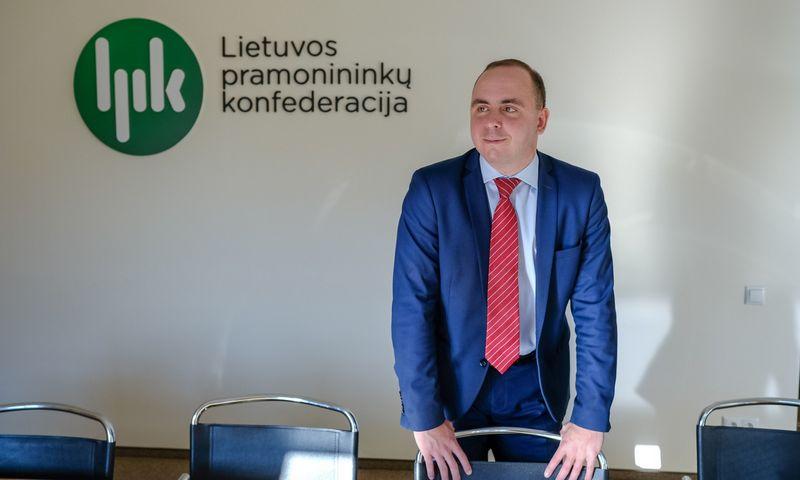 Aleksandras Izgorodinas, Lietuvos pramonininkų konfederacijos (LPK) patarėjas ekonomikai. Vladimiro Ivanovo (VŽ) nuotr.