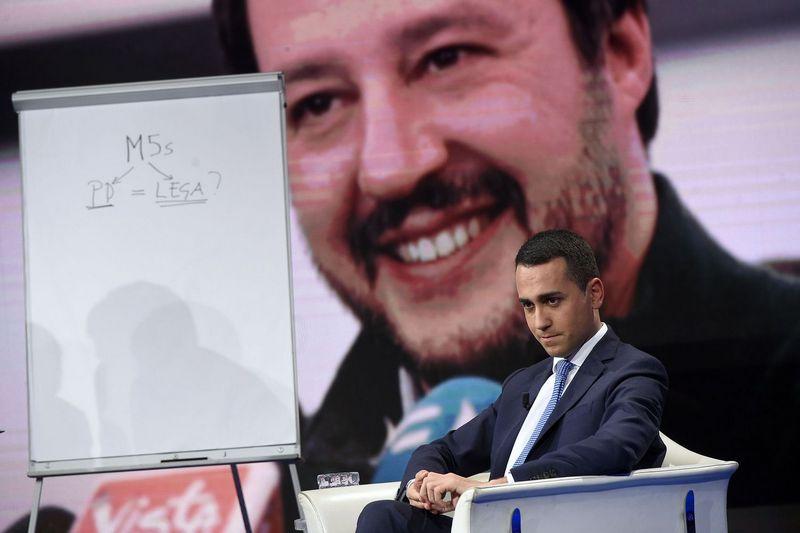 """Italijos partijos """"Penkios žvaigždės"""" lyderis Luigi Di Maio.  Luigi Mistrulli  (""""SIPA"""" / """"Scanpix"""") nuotr."""