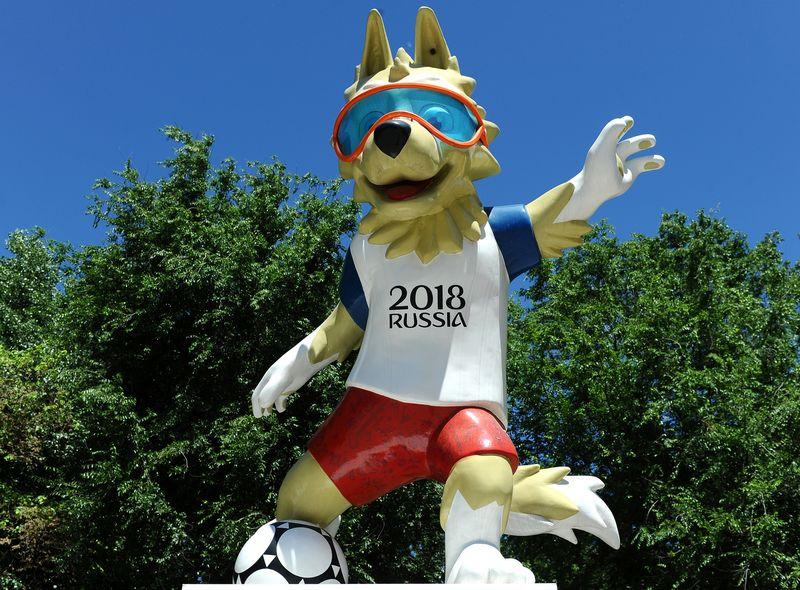 """FIFA sako, kad jokios diskriminacijos apraiškos nebus toleruojamos, bet futbolininkai vis tiek nerimauja dėl galimo Rusijos sirgalių elgesio. """"Reuters"""" / """"Scanpix"""" nuotr."""