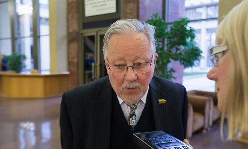 Vytautas Landsbergis: reikia eiti į kovą, o ne kapituliuoti