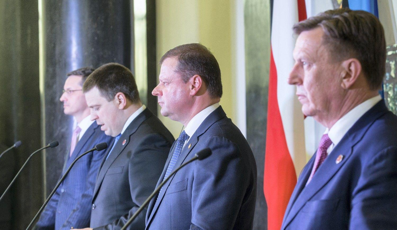 Lietuva ir kitos Baltijos šalys norėtų matyti JAV karinę bazę Lenkijoje