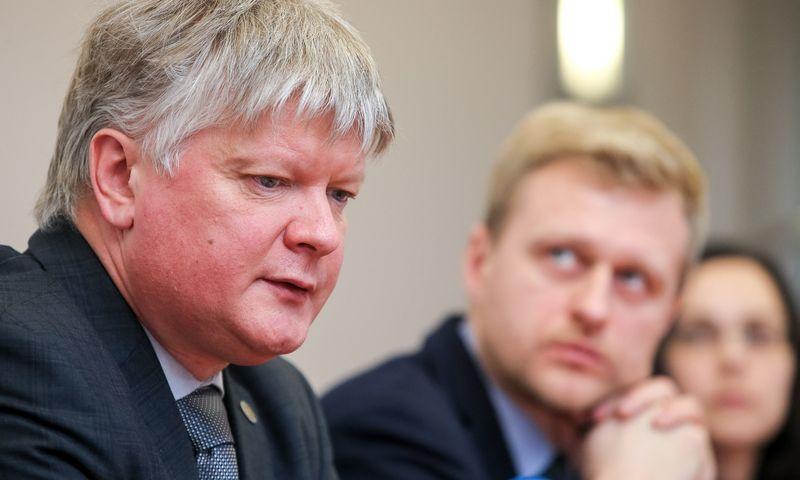 Kęstutis Navickas, aplinkos ministras. Vladimiro Ivanovo (VŽ) nuotr.