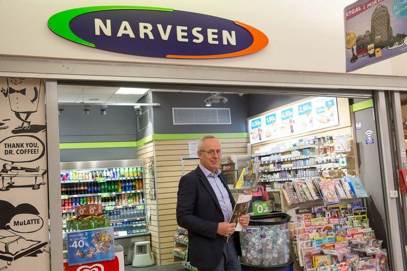 """Norvegijos kapitalo bendrovės UAB """"Reitan Convenience Lithuania"""" vadovas Vygintas Bartaševičius. Vladimiro Ivanovo (VŽ) nuotr."""
