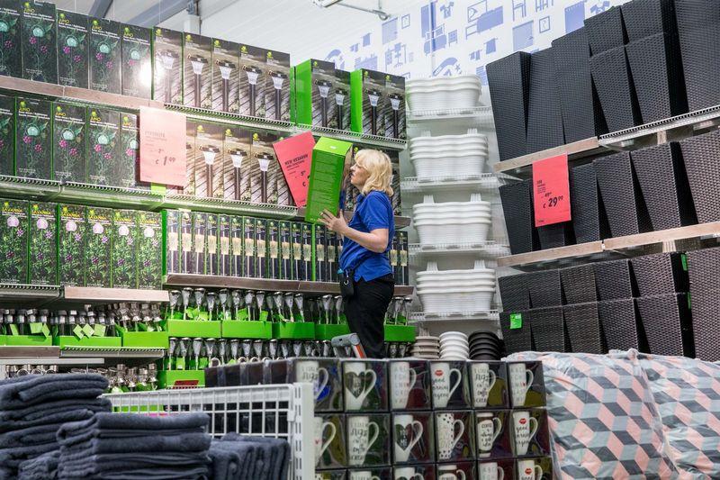 """JYSK"" parduotuvė Vilniuje, prekybos centre ""Nordika"". Juditos Grigelytės (VŽ) nuotr."