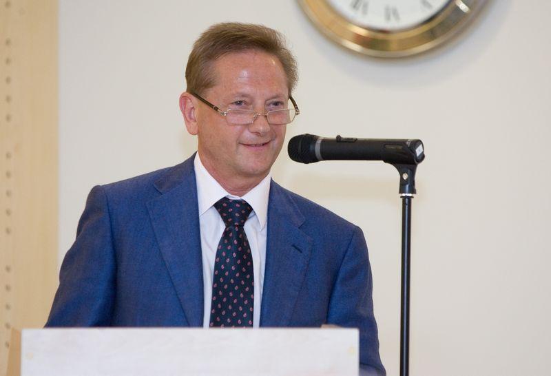 Vladimiras Romanovas, buvės Ūkio banko pagrindinis akcininkas. Juditos Grigelytės (VŽ) nuotr.