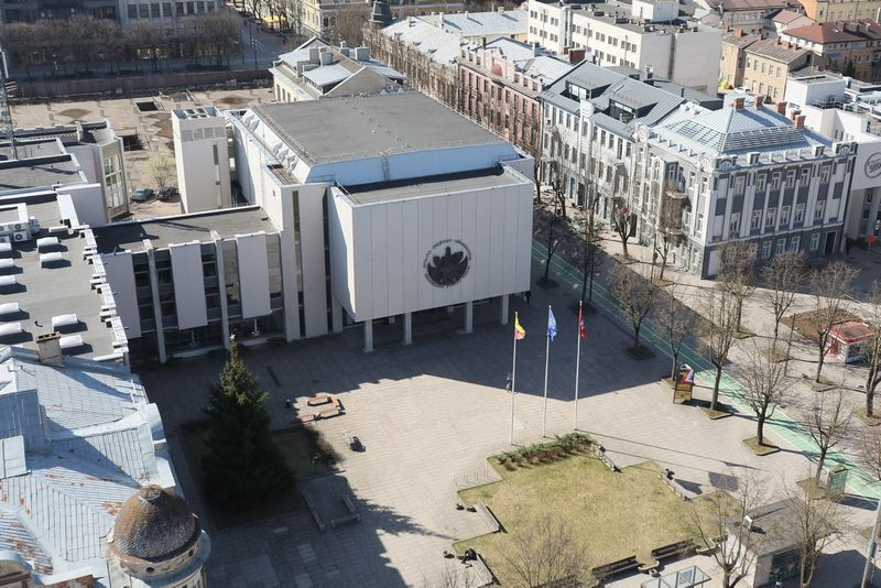 Vytauto Didžiojo universitetas. Eriko Ovčarenko (15min.lt) nuotr.