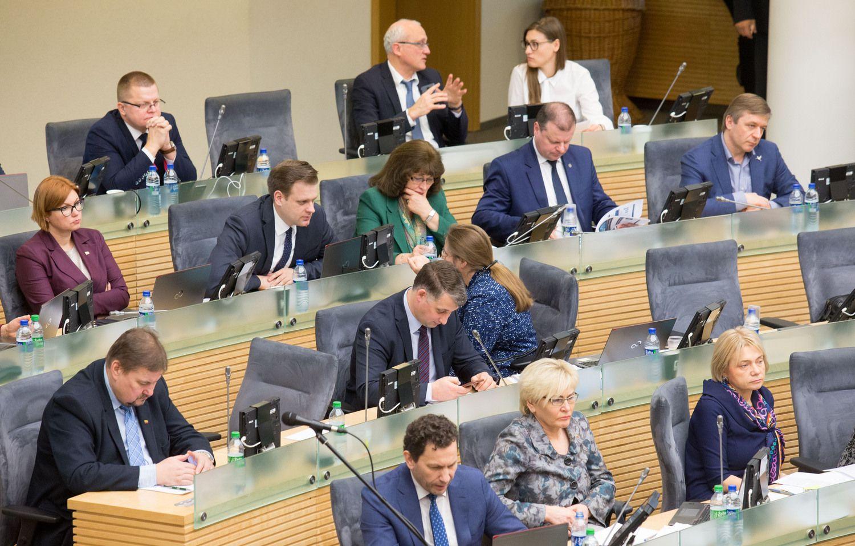 Seimas patvirtino NSGK tyrimo išvadas