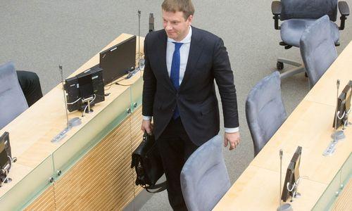 V. Šapoka Seime: įvedinėti visuotinį NT mokestį nėra prasmės