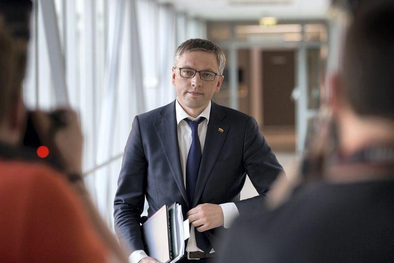 Vytautas Bakas, NSGK pirmininkas. Žygimanto Gedvilos (15min.lt / Scanpix) nuotr.