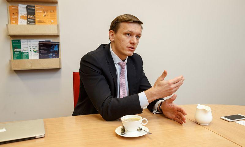 """Karolis Rosickas, """"OME Health"""" vienas iš įkūrėjų. Vladimiro Ivanovo (VŽ) nuotr."""