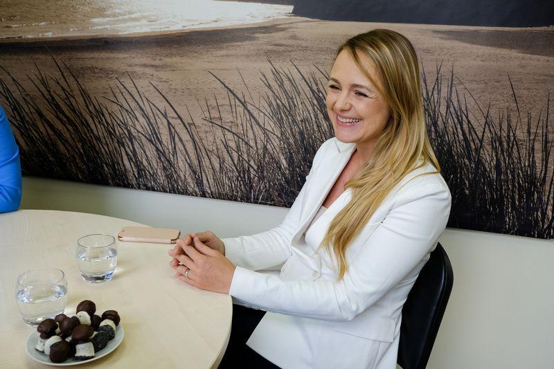 """Toma Vevelstad, UAB """"Amber team"""" Vilniaus biuro vadovė, partnerė: """"Laisvas darbo grafikas padidina darbuotojo lojalumą"""".  Vladimiro Ivanovo (VŽ) nuotr."""