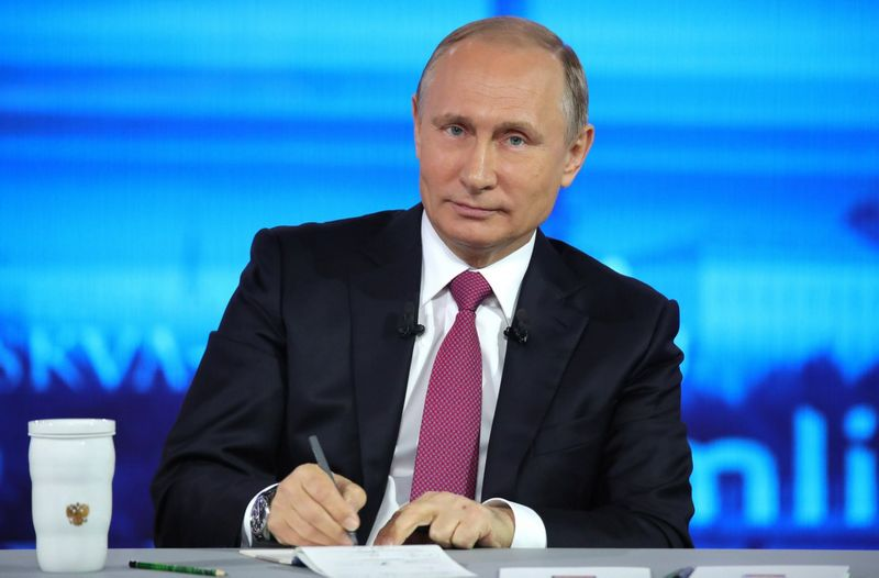 Rusijos prezidentas Vladimiras Putinas. Michaelo Klimentjevo (Sputnik / Scanpix) nuotr.