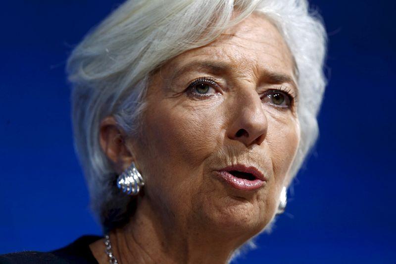 "TVF vadovė Christine Lagarde.  Mariana Bazo (""Reuters"" / ""Scanpix"") nuotr."
