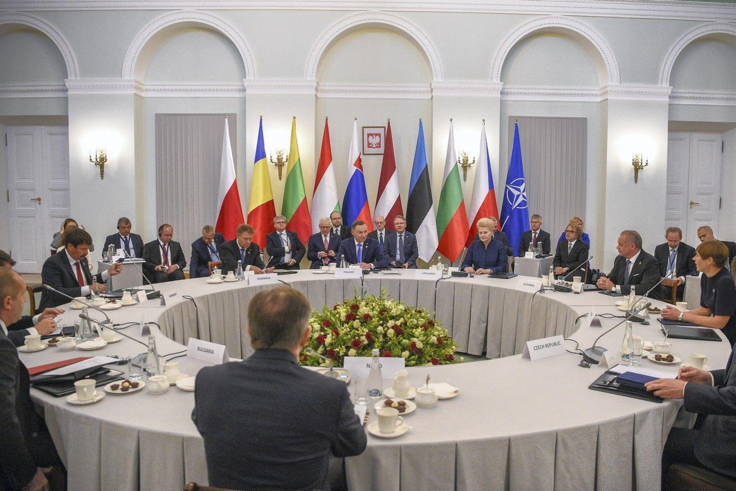 Vidurio Europa nori, kad NATO dar sustiprintų savo rytinio flango gynybą