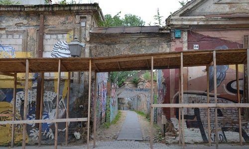 Aurelijaus Rusteikos įmonė ruošia vaiduoklio Užupyje rekonstrukciją