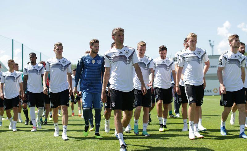 """Vokietijos rinktinė pasaulio futbole neturi lygių pagal daugybę statistikos rodiklių. """"Reuters"""" / """"Scanpix"""