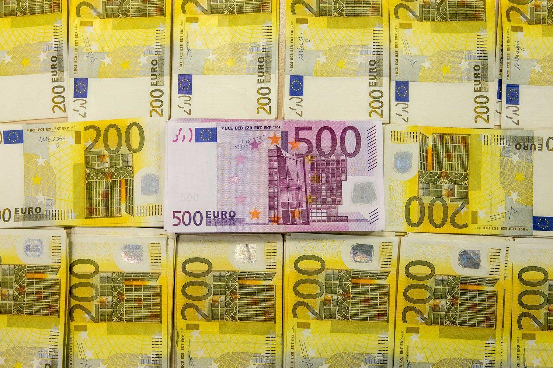 Įmonių ikimokestinis pelnas pirmąjį ketvirtį perkopė milijardą Eur