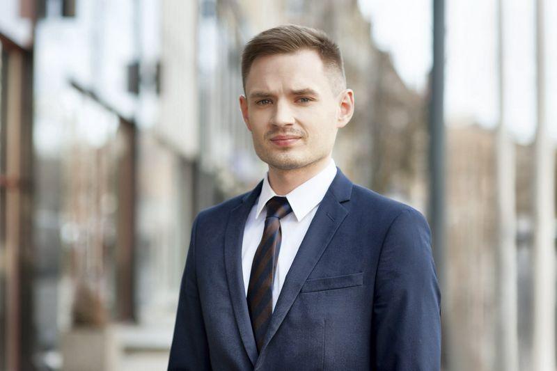 Domantas Gudonis, advokatų kontoros GLIMSTEDT teisininkas