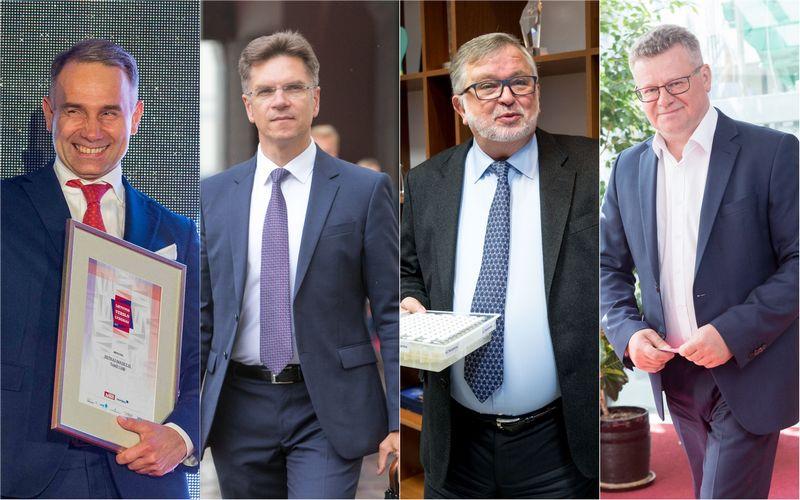 VŽ montažas. Lietuvos verslo lyderius ir Metų CEO VŽ renka nuo 2011 m.