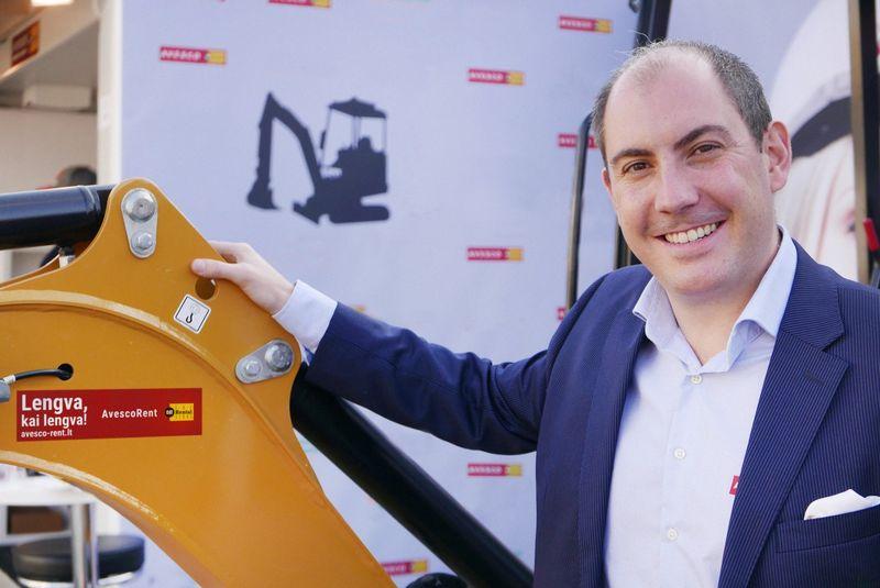 Avesco Rent generalinis direktorius Vincent Albasini